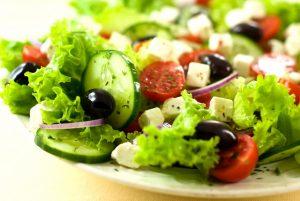 Tossed Salad w Black Olives