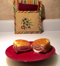 Revved Up Grilled Ham & Cheese Sandwich