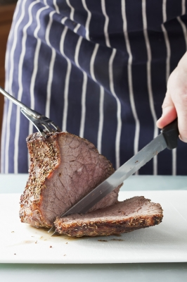 Roast Beef Carving Photo by Serge Bertasius Photography