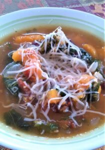 Kale and Butternut Squash Minestrone